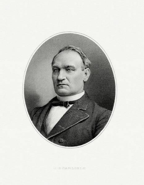 John G. Carlisle Art Print