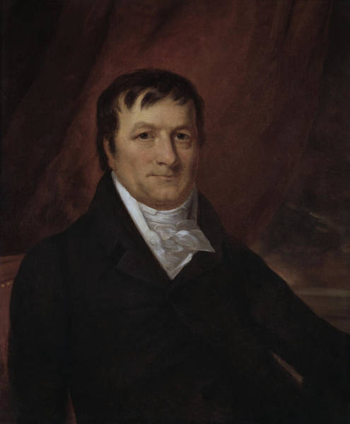 Wall Art - Painting - John Jacob Astor Portrait - By John Wesley Jarvis by War Is Hell Store