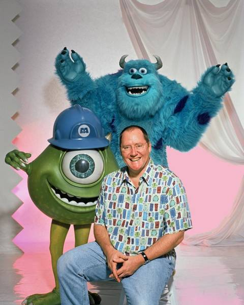 Photograph - John Lasseter Portrait Session by Harry Langdon