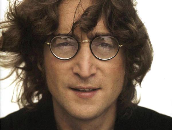 Ringo Star Mixed Media - John Lennon, Close Up Of The Working Class Hero  by Thomas Pollart