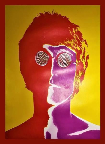 Photograph - John Lennon by Rob Hans