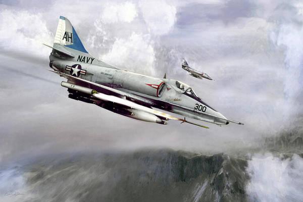 Wall Art - Digital Art - John Mccain Naval Aviator by Peter Chilelli