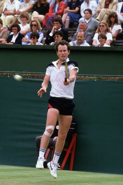Wall Art - Photograph - John Mcenroe by Adrian Murrell