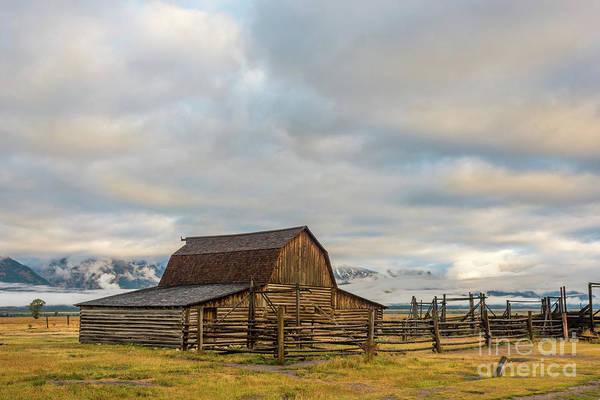 Photograph - John Moulton Barn 2 by Paul Quinn