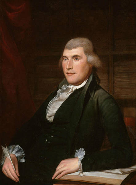 Wall Art - Painting - John Nicholson by Charles Willson Peale