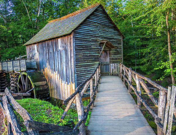 Photograph - John P Cable Grist Mill by Dan Sproul