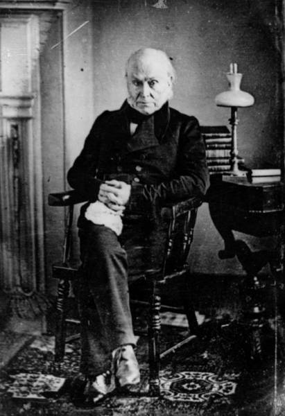 Politics Photograph - John Quincy Adams by Hulton Archive