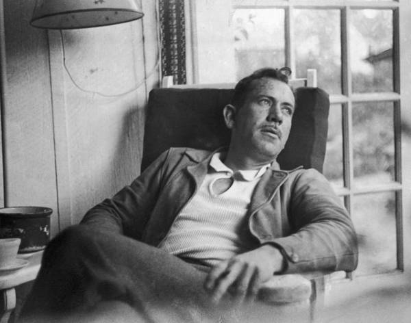Wall Art - Photograph - John Steinbeck by Peter Stackpole