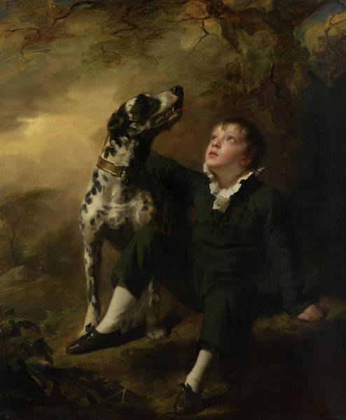Wall Art - Painting - John Stuart Hepburn Forbes, Later 8th Baronet Of Monymusk, And Of Fettercairn And Pitsligo by Henry Raeburn