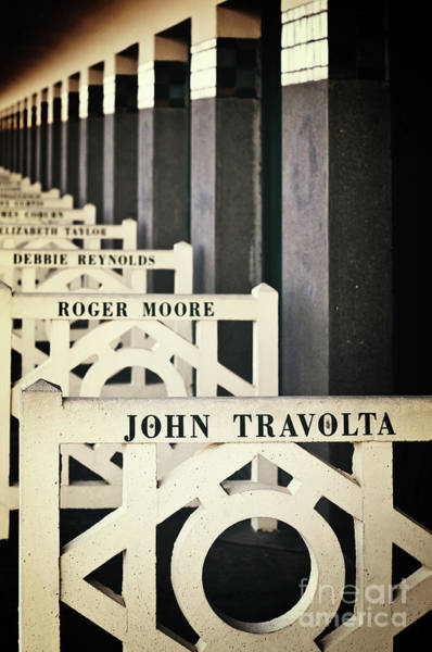 Wall Art - Photograph - John Travolta In Deauville by Delphimages Photo Creations