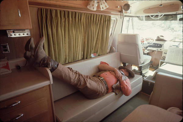 Photograph - John Wayne by John Dominis