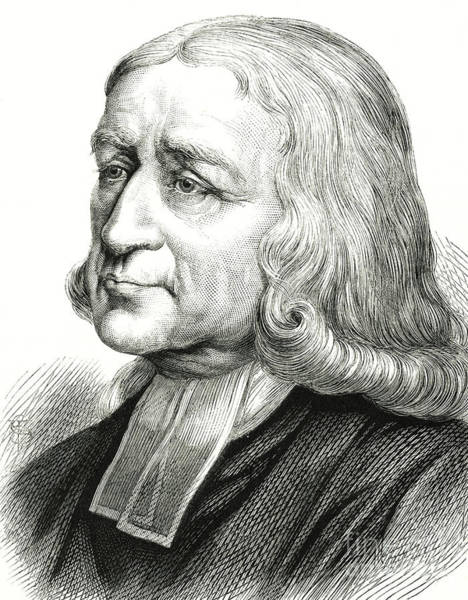 Wall Art - Drawing - John Wesley, Engraving by English School