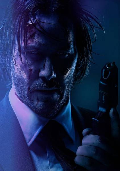 Wall Art - Digital Art - John Wick Chapter 2 by Geek N Rock