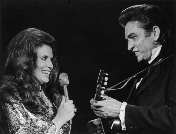 Country Music Photograph - Johnny And June by Archive Photos