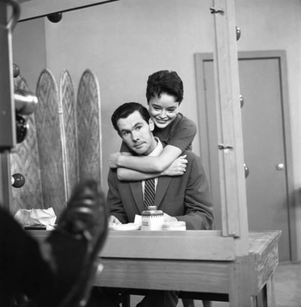 Johnny Carson Photograph - Johnny Carson And Jill Corey by Michael Ochs Archives