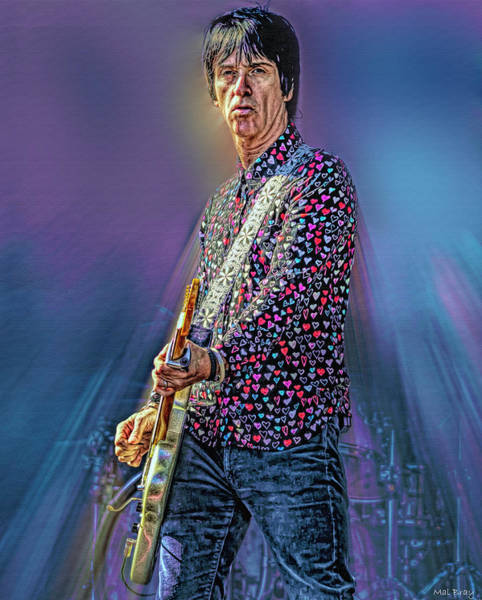 Wall Art - Digital Art - Johnny Marr by Mal Bray