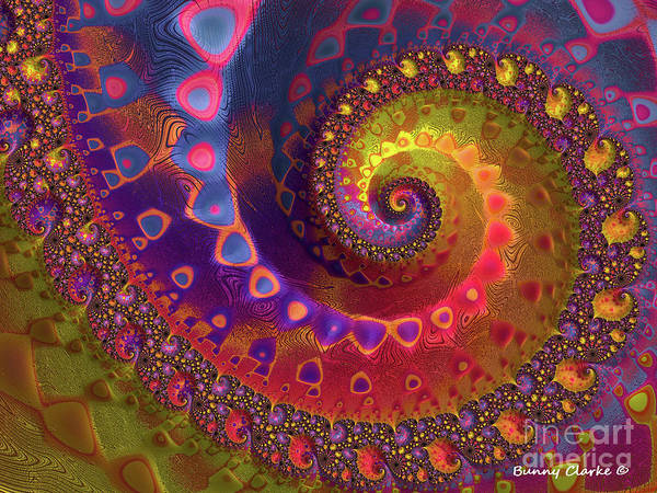 Wall Art - Digital Art - Joie De Vivre by Bunny Clarke