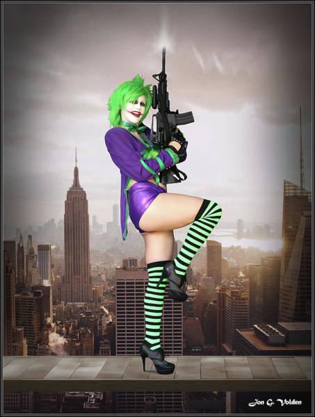 Photograph - Joker Is Wild by Jon Volden