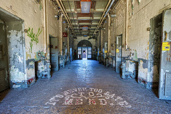 Wall Art - Photograph - Joliet Solitary Confindement by Mike Burgquist