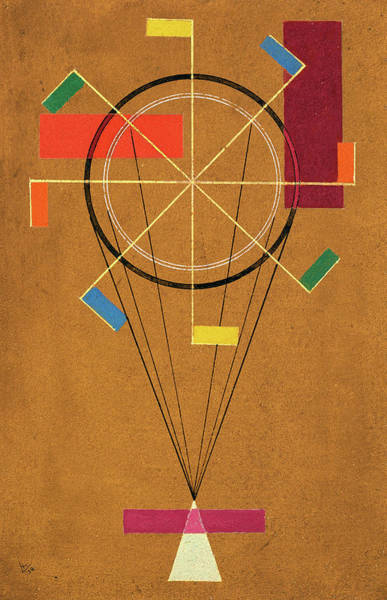 Wall Art - Painting - Jolly - Fidel, 1930 by Wassily Kandinsky