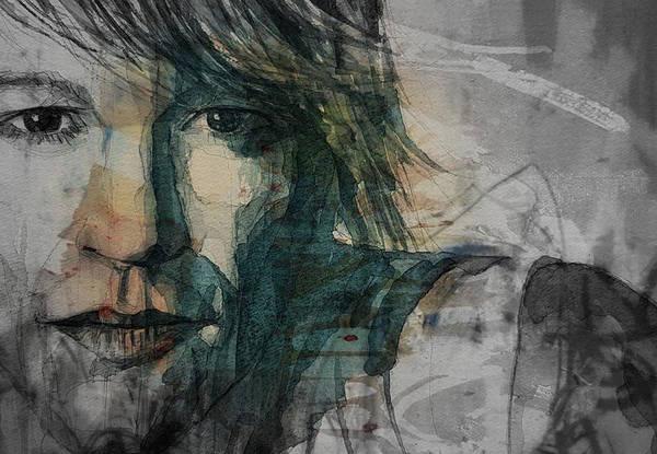 Wall Art - Painting - Jon Bon Jovi by Paul Lovering
