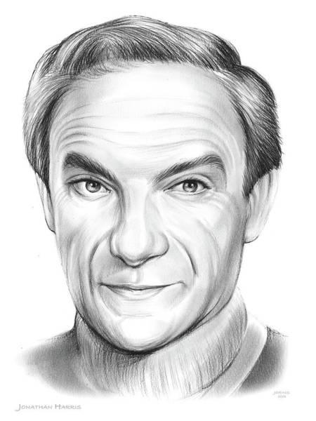 Drawing - Jonathan Harris by Greg Joens