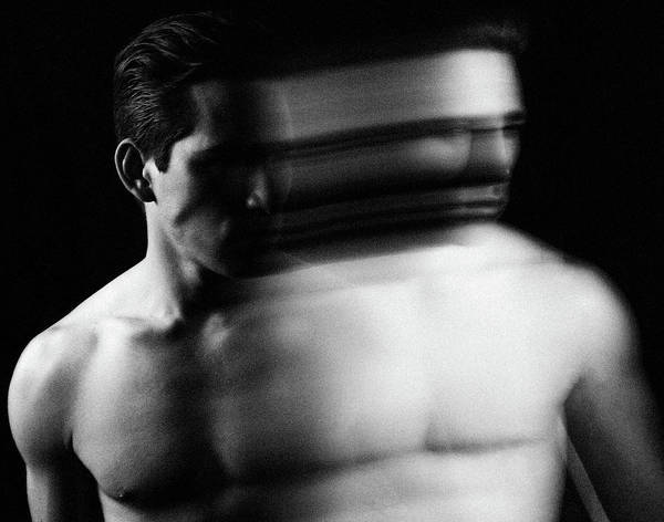 Photograph - Jonathon, Duality #1, 2014 by Chris Hunt