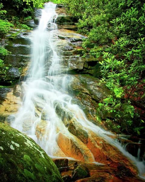 Photograph - Jones Gap Falls, South Carolina by Flying Z Photography by Zayne Diamond