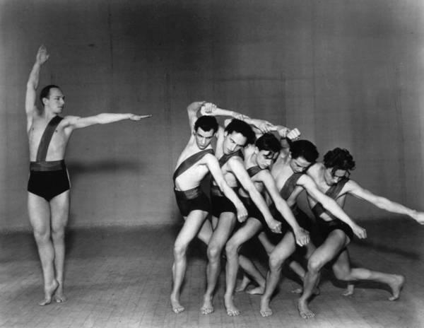 Bending Photograph - Jooss Leeder Ballet by Sasha