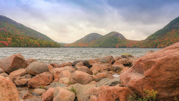 Photograph - Jordan Pond Acadia National Park by Dan Sproul