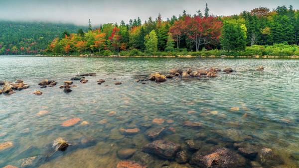 Photograph - Jordan Pond by James Billings