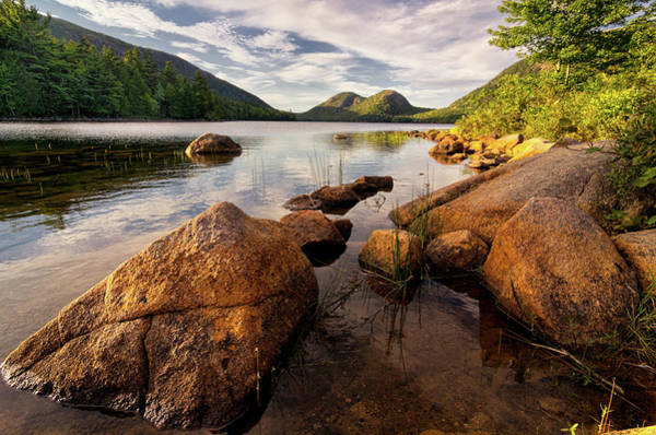 Jordan Wall Art - Photograph - Jordan Pond Rocks by Www.cfwphotography.com