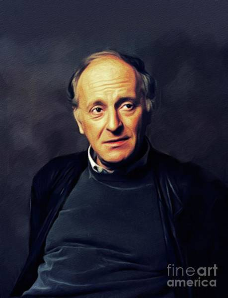 Wall Art - Painting - Joseph Brodsky, Literary Legend by John Springfield