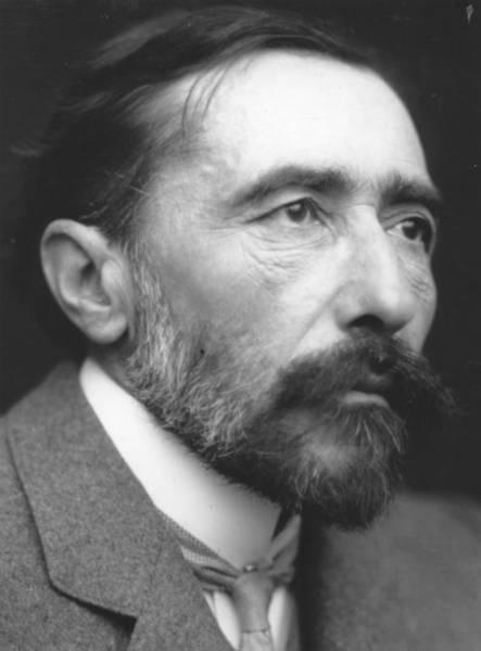Photograph - Joseph Conrad by George C. Beresford