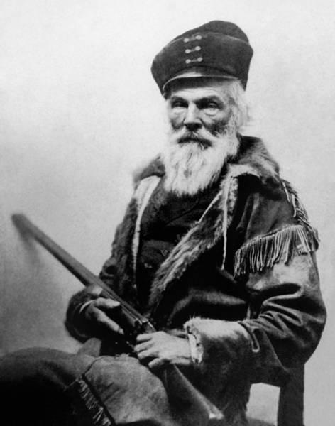 Joseph Photograph - Joseph R. Walker Portrait - Circa 1862 by War Is Hell Store