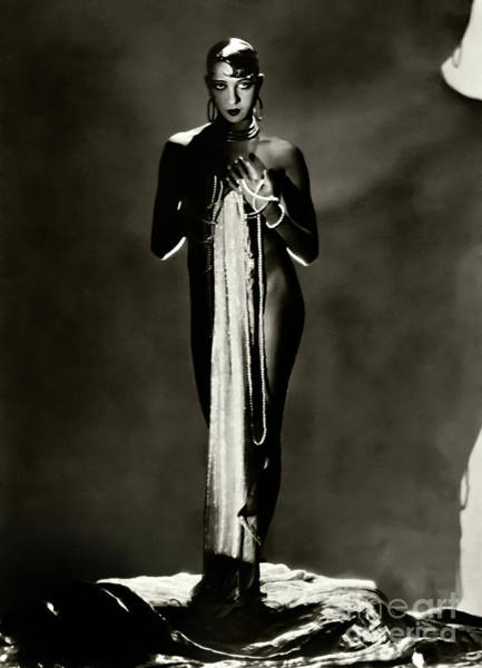 Josephine Baker Photograph - Josephine Baker 1929 by Sad Hill - Bizarre Los Angeles Archive