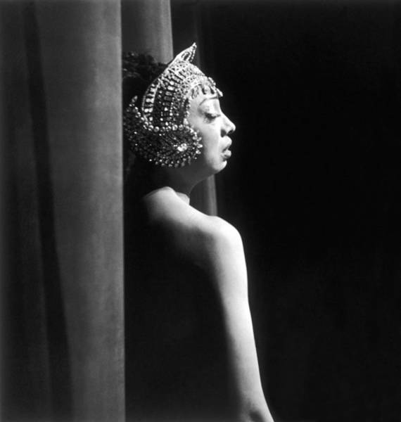 Josephine Baker Photograph - Josephine Baker Bids Farewell To The by Keystone-france
