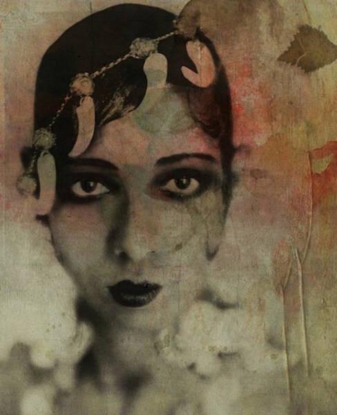 Wall Art - Mixed Media - Josephine Baker - Vintage  by Paul Lovering