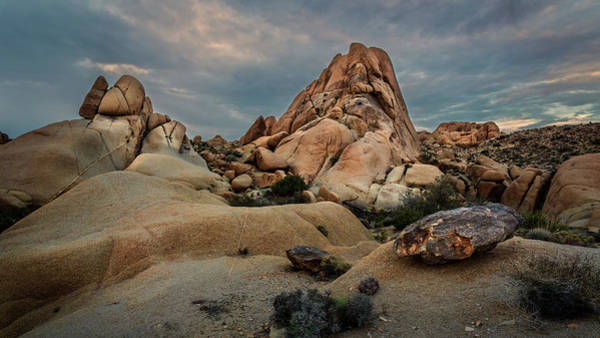 Photograph - Joshua Tree Rock Formations by Rick Strobaugh