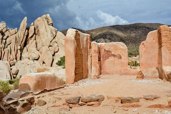Photograph - Joshua Tree Ryan Ranch Ruins by Kyle Hanson