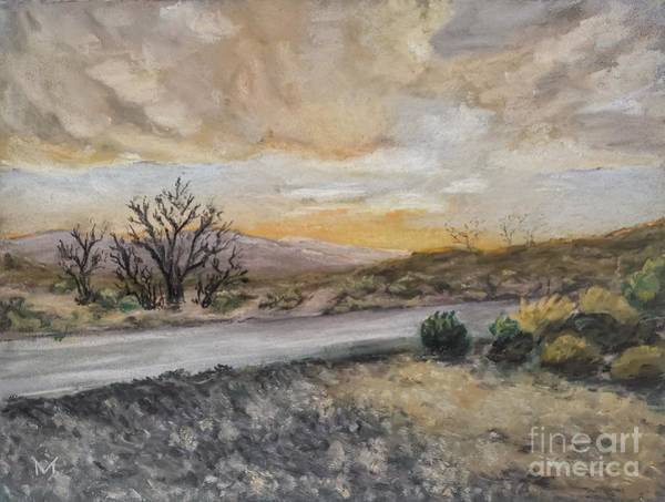 Pastel - Joshua Tree Sunset by Maria Langgle