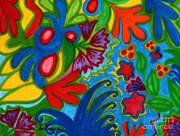 Wall Art - Painting - Joy 1 by A Hillman