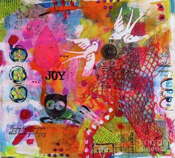 Mixed Media - Joy  by Corina Stupu Thomas