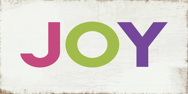 Joy In Color- Art By Linda Woods Art Print