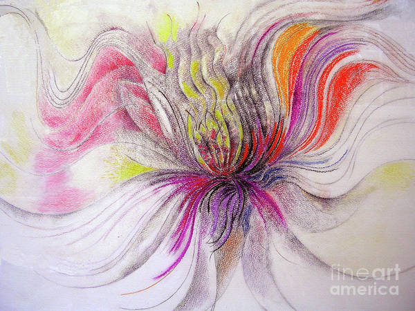 Mixed Media - Joy by Rosanne Licciardi