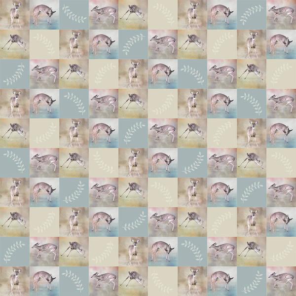 Photograph - Joyful Little Fawns Collage by Jai Johnson