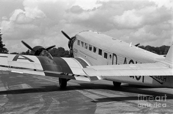 Ju 52 Wall Art - Photograph - Ju-52 Taxing by Riccardo Mottola