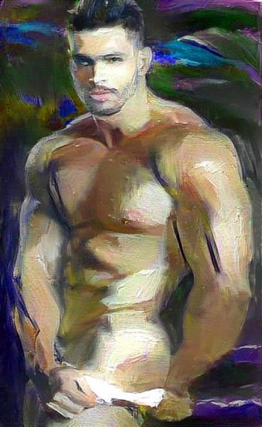 Digital Art - Juan Carlos by Richard Laeton
