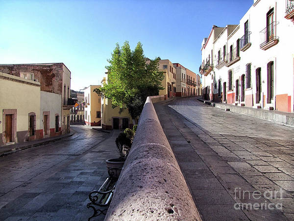 Zacatecas Photograph - Juan De Tolosa And Genaro Codina Street by Jerry Editor