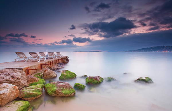 French Riviera Photograph - Juan Les Pins, French Riviera by Eric Rousset